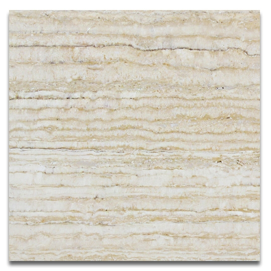 Silver Crystal — Travertine